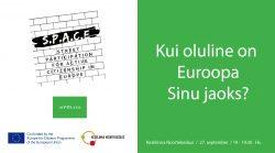 S.P.A.C.E local event Tallinn 27.09.2018