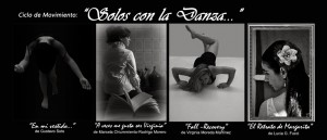 Solos con la Danza II blanco y negro